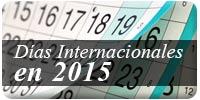 Días Internacionales 2015