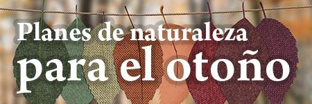 Planes de naturaleza para el otoño